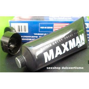 maxman-crema retardante