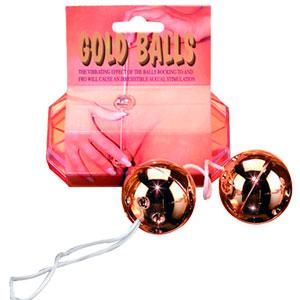 Bolas-Gold-Balls