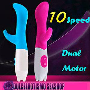Vibrador G - Spot Dual Stick 10 Modos de vibración