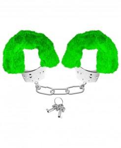esposas-neon-furry-cuffs verdes
