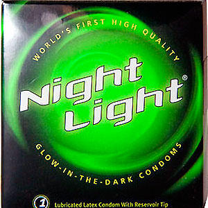 condones-fluorescentes nigth light